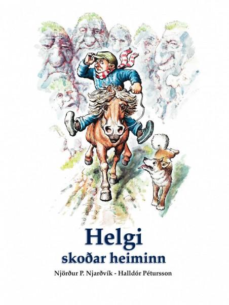Helgi skoðar heiminn - harðspjalda bók
