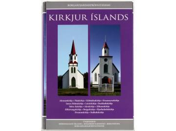 Kirkjur Íslands: Bindi 13-14. Friðaðar kirkjur í Borgarfjarðarprófastsdæmi