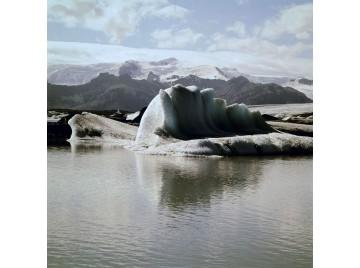 Glacier lagoon in Iceland, 1955-60