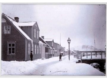 Segull. Lækjargata að vetri 1883