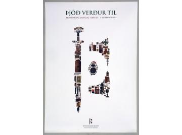 Plakat - Þjóð verður til