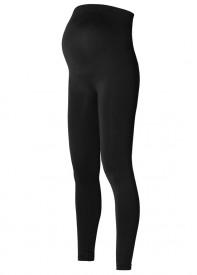 Noppies seamless legging Cara black - meðgönguleggings svartar