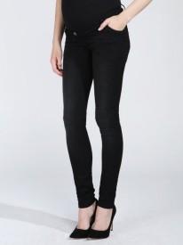 Love2Wait Jeans Sophia Black Superstretch - svartar meðgöngugallabuxur