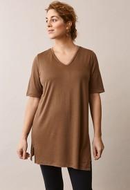 Boob The-shirt tunic hazelnut - ljósbrún túnika