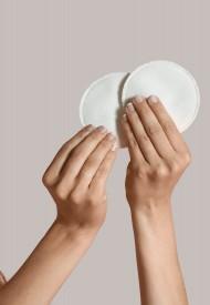 Carriwell Washable breast pads one size - fjölnota brjóstagjafainnlegg 3 sett í pakka