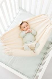 Babylonia Hoppa Baby Hammock cream - hengirúm cream litur