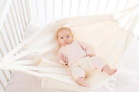Babylonia Hoppa Baby Hammock white - hengirúm hvítt