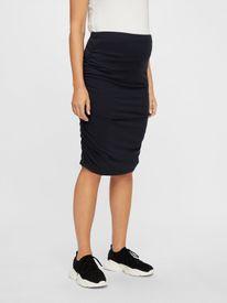 Mamalicious Aimy jersey skirt - svart pils