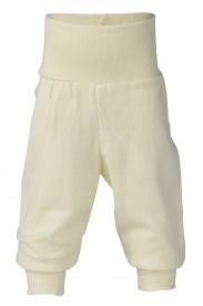 Engel baby-pants long with waistband natural - ljósar buxur GOTS