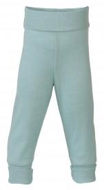 Engel baby-pants long with waistband gletscher - pastelgrænar buxur GOTS