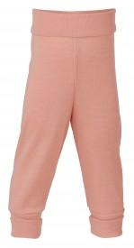 Engel baby-pants long with waistband lachs - pastelbleikar buxur GOTS