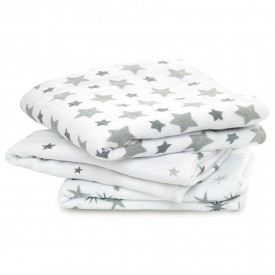 aden+anais twinkle 3-pack classic muslin squares