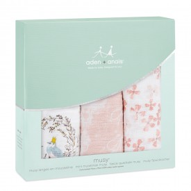 aden+anais birdsong 3-pack musy muslin squares