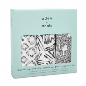 aden+anais in motion 3-pack silky soft swaddles