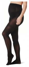 Noppies Maternity tights - 40 den - sokkabuxur svartar