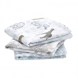 aden+anais jungle 3-pack classic muslin squares