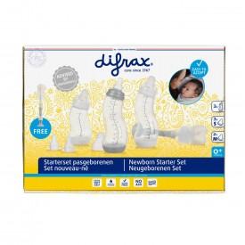 Difrax upphafssett með bursta - newborn starter set