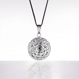 Cache coeur Bola - Bubble argent silver