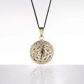 Cache coeur Bola - Bubble gold rhodium