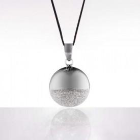 Cache coeur Bola - Sphere black rhodium