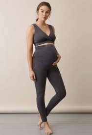 Boob OONO Merino wool leggings dark grey melange - merinoullar leggings
