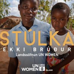 Stúlka ekki brúður - Landssöfnun UN Women
