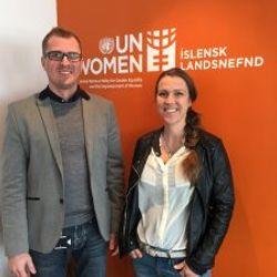 Oddi styrkir starf UN Women á Íslandi