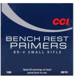 cci primer small BR-4 bench rest