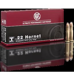 RWS 22cal Hornet TMS 46gr sp