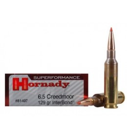 Hornady 6,5 creedmoor 129gr interlock