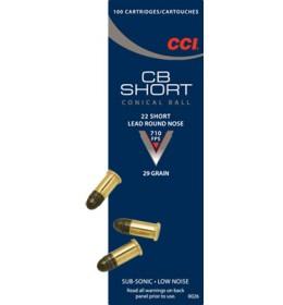 CCI 22cal skot short 29gr 100stk