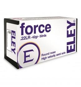 Eley Force 22cal skot 38grs