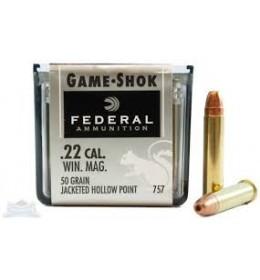 Federal  22 magnum 50gr HP