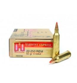 Hornady 22-250 REM 50gr V-MAX