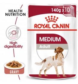 Royal Canin Mediu adult blautfóður 140gr