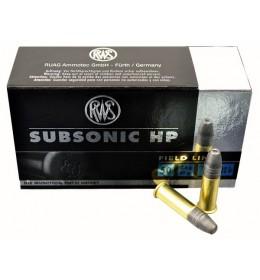 RWS 22cal subsonic HP