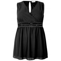 YOURS detail blouse black