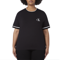 CK EMBROIDERY T BLACK