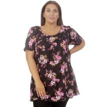 SMALL FLORAL PINK SMOCK BOLUR