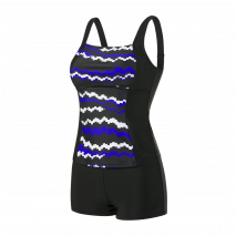 Speedo Penny Tankini White/Blue