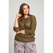 ADIA KNIT PULLOVER CAMOUFLAGE