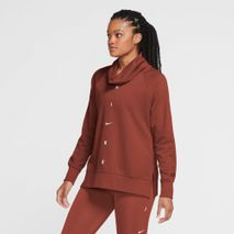 NIKE DRY GET FIT FLC COWL NK G