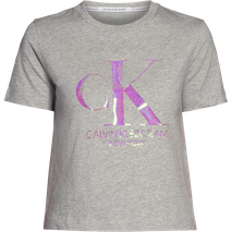 Iridescent Ck Straight Tee
