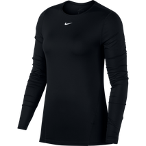 NIKE PRO TOP LS ALL OVER MESH