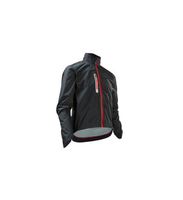 Cube Rain Jacket Blackline