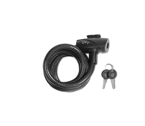 RFR Spiral Cable Lock 12x1800mm