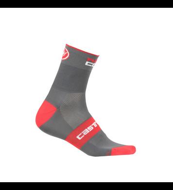 Castelli Rossa Corsa 13 Sock