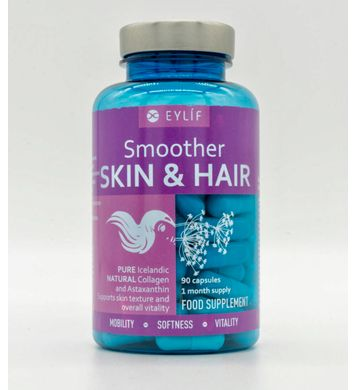 EYLÍF Smoother Skin & Hair 90 belgir