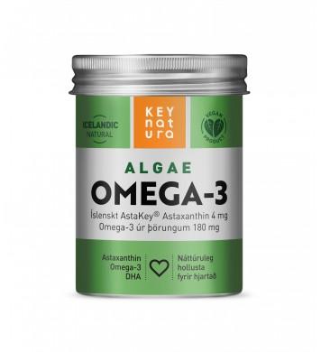 KeyNatura  AlgaeOmega-3  60 perlur