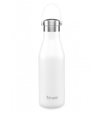 Ohelo Bottle white - Plain